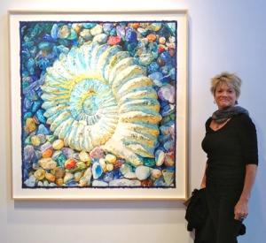 Ammonite by Joseph Raffael