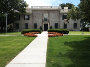 The elegant, Italianate villa that holds the Hyde Collection. What a gift to the region!
